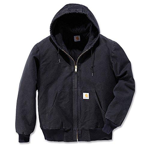 Carhartt Men's Sandstone Active Jacket,Black,2X-Large