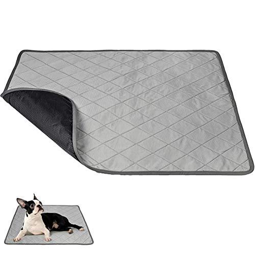 Kerta Almohadilla de hielo multifuncional para mascotas, almohadilla de enfriamiento de verano, almohadilla de enfriamiento automática, almohadilla para pañales, interior y exterior