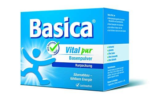 Basica Vital pur, reine basische Mineralstoffe, 50 Sticks