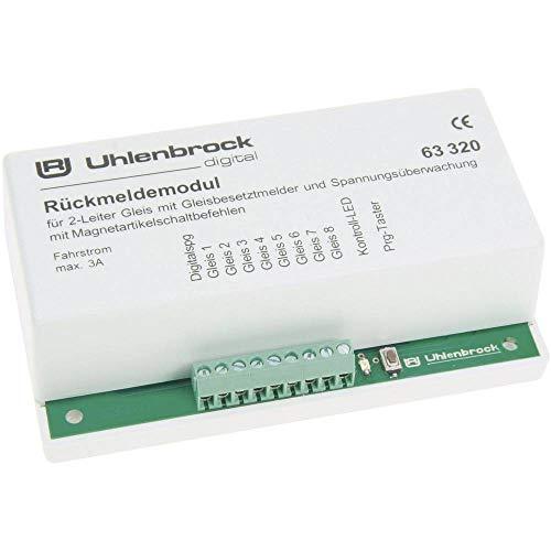 Uhlenbrock 63320 Rückmeldemodul für 2-Leiter Gleis
