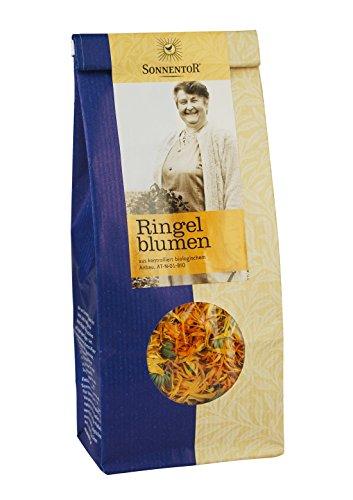 Sonnentor Tee Ringelblumen lose, 1er Pack (1 x 50 g) - Bio