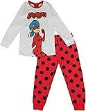 Miraculous Tales of Ladybug and Cat Noir - Pijama de algodón para niña Blanco blanco 11 años