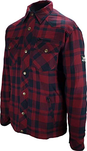 Bores Lumberjack Shirt Rot/Schwarz L