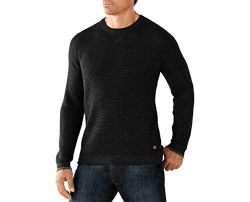 Smartwool Men's Cheyenne Creek Crew Sweater (Charcoal Heather) X-Large