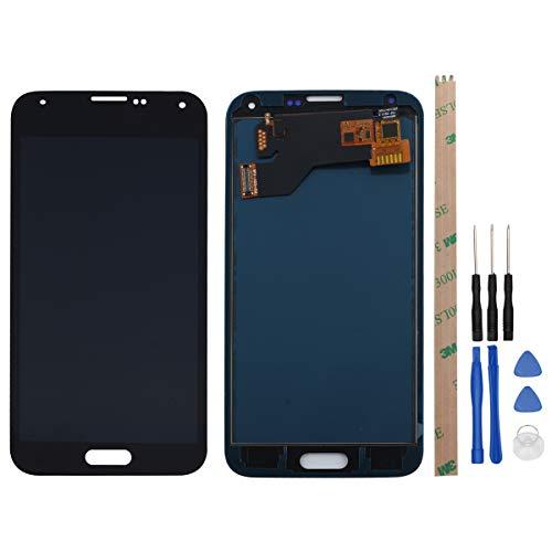 West Dragon LCD Touchscreen für Samsung Galaxy S5 Display Ersatz Bildschirm Komplettes mit Werkzeuge für Samsung Galaxy S5 G900F (Schwarz)