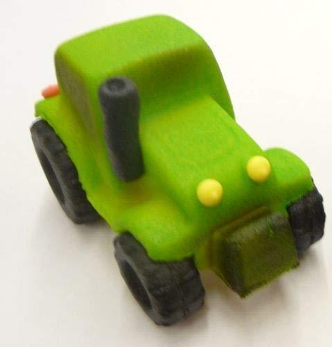 Marzipan Traktor grün - 65 g