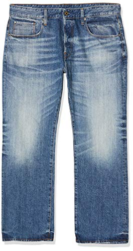 G-Star Herren Jeans 3301 Loose Fit - Blau - Medium Aged, Größe:W 33 L 38;Farbe:Medium Aged (071)