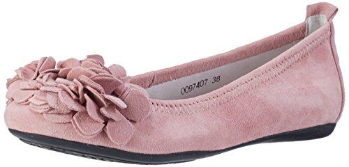 HIRSCHKOGEL Damen 0097407 Geschlossene Ballerinas, Pink (Rosa 022), 38 EU
