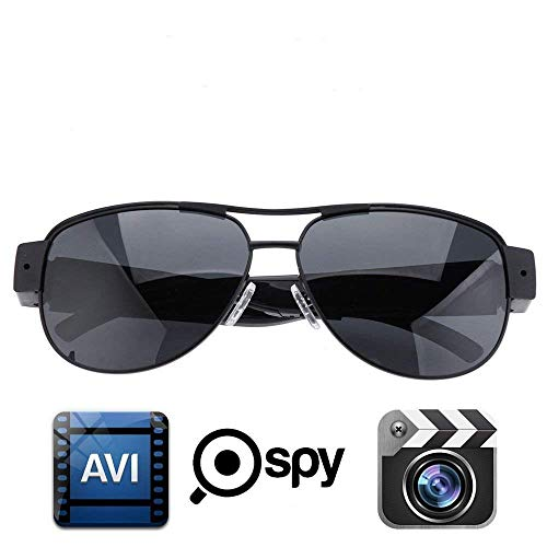 1080P HD Espía Oculto DVR CAM Gafas de Sol Sport Video Camcorder Camera DV Wearable