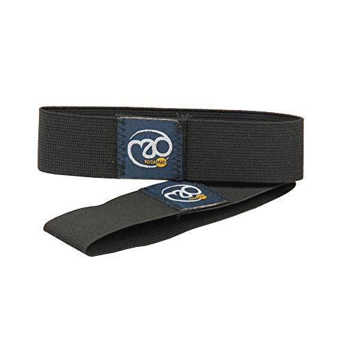 Yoga-Mad Mat (Pair) Yoga-Bänder, Schwarz, 3 cm Wide