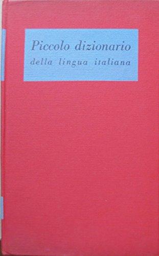 Piccolo dizionario: nomenclatore fraseologico.