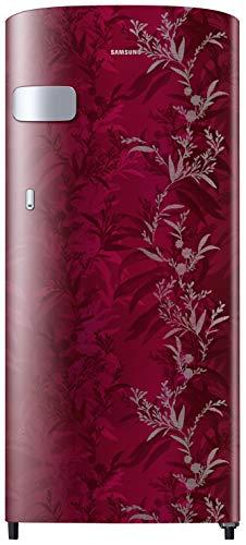 Samsung 192 L 2 Star Direct-Cool Single Door Refrigerator (RR19T2Z2B6R/NL, Mystic Overlay Red)