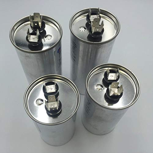 CROSYO Motor de CA Condensador Aire Acondicionado Compresor Arranque del Condensador CBB65 450VAC 20uF 25uF 30uF 35uF 40uF 45uF 50uF 60uF 70uF (Speed : 45UF)