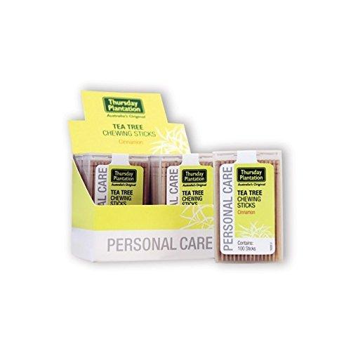 Thursday Plantation Tea Tree Chewing Sticks - Cinnamon 6 Pack(S)