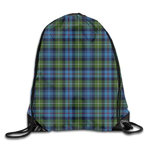 Mackenzie Highlander Tartan Colori antichi Personalizzati Palestra Borse Da Viaggio Zaino Tote Scuola Zaino Per Donne Uomini
