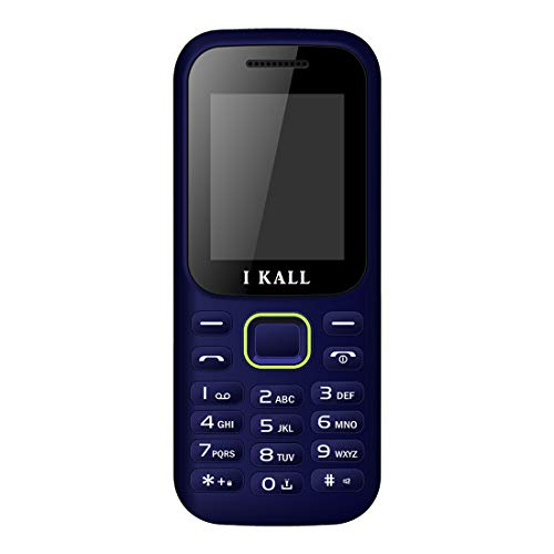I KALL K31 Multimedia Mobile Without Camera (1.8 Inch, Blue)