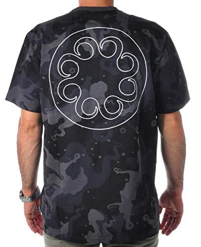 Octopus T-Shirt Maniche Corte Uomo CAMO Tee Black L