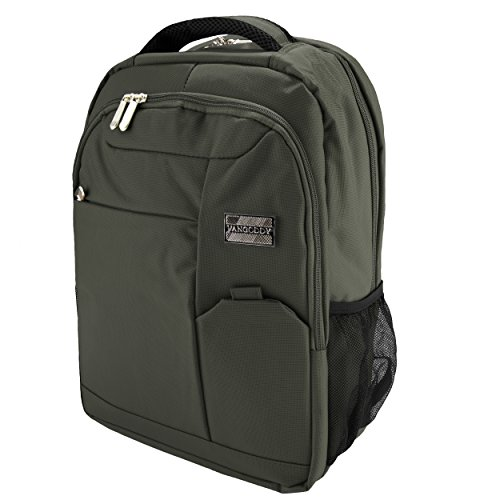 VanGoddy Olive Green Executive Anti-Theft Laptop Backpack for Samsung Notebook Series/ChromeBook/TabPro S/Galaxy Book / 11' to 15inch