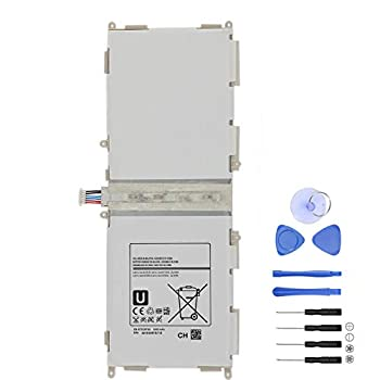 Damzon New EB-BT530FBU Battery Compatible for Samsung Galaxy Tab 4 10.1  SM-T530 T531 T535 T537 P5220 Series Tablet BT530FBC/E Replacement Batteries with Tools  3.8V 6800mAh