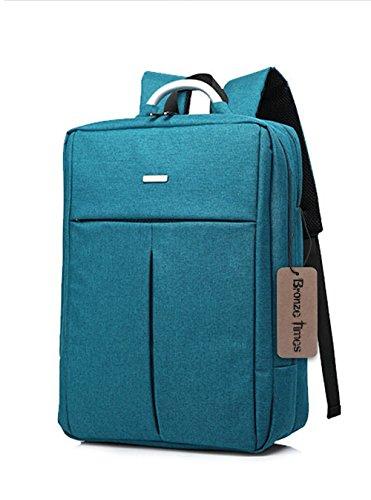 "Bronze Times(TM) Laptop Backpack, Mens Slim Business Travel Computer Bag Fits Under 17"" Laptop & Notebook (14 inch, B-Blue)"