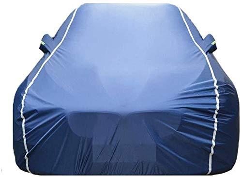 Gugb Cubierta de Coches Compatible con Audi A1 A2 A3 A4 A4L A5 A6 A6L A7 A8 A8L All Tiempo A Prueba de Agua Polvo UV Cubierta de Coche para Interiores y Exteriores-Azul_A3