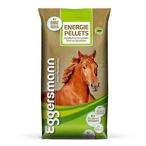 Eggersmann Energie Pellets – Pferdefutter für Sportpferde – Schnelle Nährstoff- und Energiezufuhr – 25 kg Sack