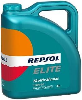 REPSOL ( レプソル ) エンジンオイル 【Multivalvulas マルチバルブ】 10W40 SM/CF 100%化学合成 4L 007053 [HTRC3]