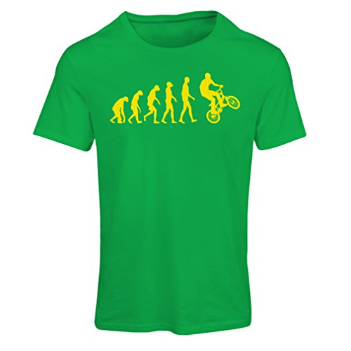lepni.me dames T-shirt Evolution van de fiets