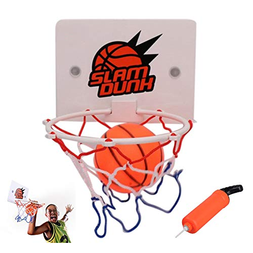 Yajun Basketballkorb Mini Basketball Backboard Toys Kit Indoor Wand Home Lustige Sportspiel Set für Kinder Kinder Erwachsene