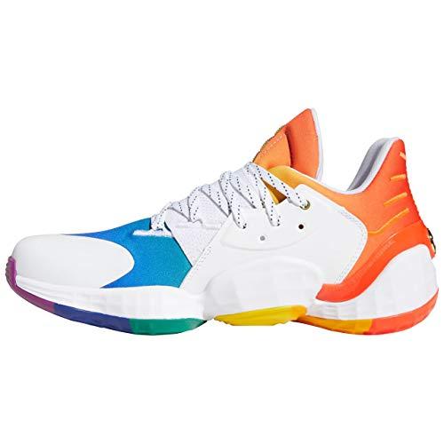 adidas Harden Vol. 4 GCA Pride Herren Basketballschuh, Größe 44