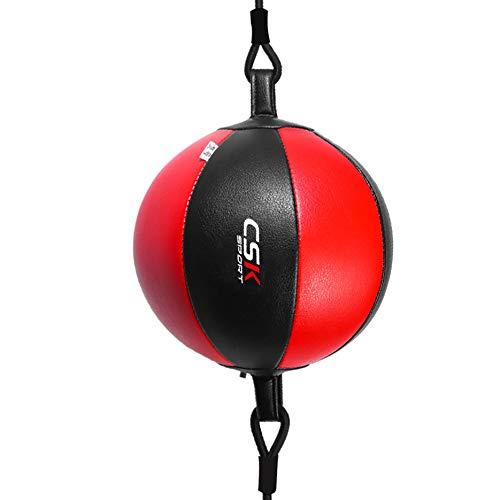 Boxen Reflex Training Balls, Box HallenausstattungFokus Boxsäcke Tragbare Heimfitnessgeräte Speed Fitness Boxing Ball Mit Verstellbares Kopfband Trainingsball Für Ihr Boxtraining Boxing Ball,Rot
