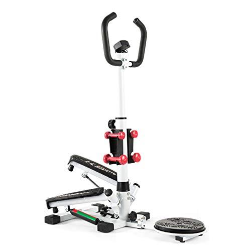 NT Schrittmaschine für Bewegung, einstellbare Falttrainings-Schrittmaschine, Hochleistungsstahlkonstruktion, digitaler Monitor, rutschfeste Pedale, maximale Gewichtskapazität 440 lbs
