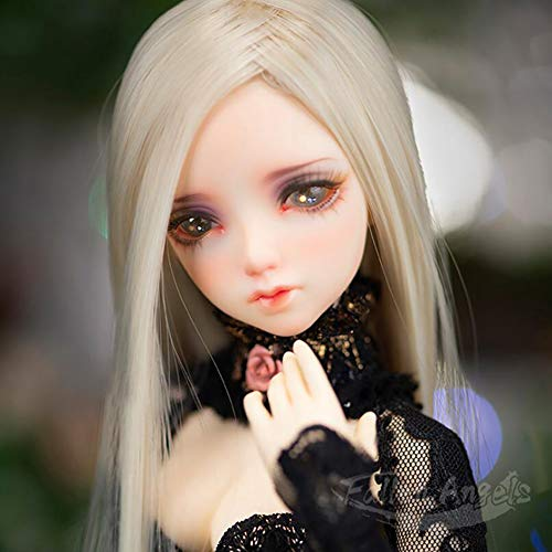BJD/SD Doll 1/4 Große 16 Inch Toys 42cm 19-Jointed Body Cosplay Fashion Dolls mit Outfit Wig Hair Makeup Gift Collection Surprise Gift