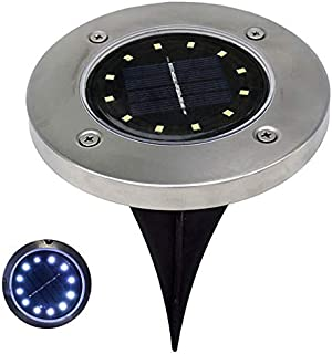 Criforry LED Solar Power Buried Light Under Ground Lamp Outdoor Path Way  Garden Decking Gentle on 82983122f8