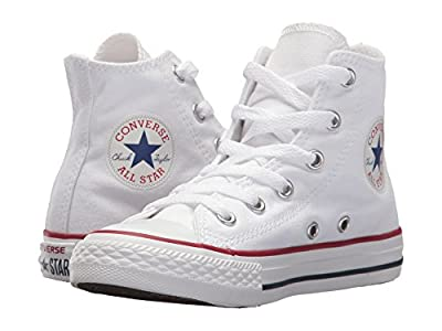 Converse Kids Chuck Taylor(r) All Star(r) Core Hi (Little Kid) (Optical White) Kids Shoes