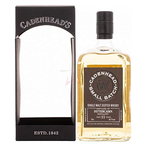 Cadenhead's FETTERCAIRN 11 Years Old SMALL BATCH Single Malt Scotch Whisky 2007 (1 x 0.7 l)