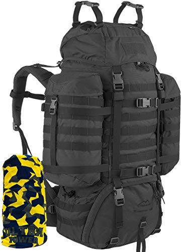 Wisport Trekkingrucksack Damen & Herren   Backpacker Weltreise I Work Travel Rucksack für...