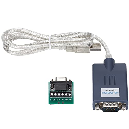 Serial to USB Adapter, Power Management USB2.0 to RS485/RS422 Converter Remote Wakeup for Label Printers for Barcode Scanners(HXSP-2118G)
