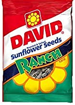 product image for David Ranch Sunflower Seeds 5.25 oz. Bags - 12 / Box