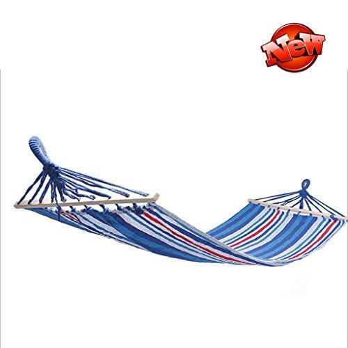 Hamacs balancelles et Accessoires Simple extérieur Multifonctionnel de Jeu de d'enfant de balançoire (Color : Blue and White, Size : 190 * 90cm)