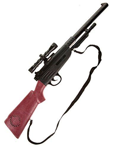 Deiters Gewehr mit Visier schwarz/braun 67cm