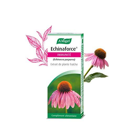 A. VOGEL - Echinaforce® - Complément Alimentaire à Base d'Extrait de Plante Fraîche d'Échinacée Bio - Formulé pour Soutenir l'Immunité - Solution Buvable 50 ml - Laboratoire Suisse