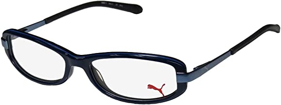 Puma 15194 For Men Wrap Mirrored Lenses TIGHT-FIT Designed for Weight Lifting/Yoga/Sports Activities Sunglasses/Sun Glasses