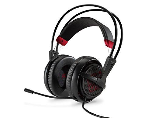 HP X7Z95AA OMEN Gaming Headset (SteelSeries) für PC, Notebook, PS4, Xbox One in schwarz