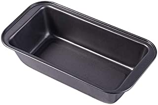 Rectangle Cake Pan Black Steel Non-stick Toast Bread Cake Baking DIY Bread Mold For Loaf Bakeware Supplies