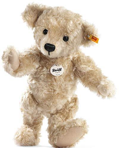Steiff Luca Teddybär - 35 cm - Sammlertier für Erwachsene - weich & Nicht waschbar - blond (027475)