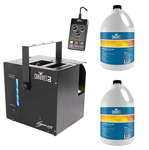 CHAUVET DJ Hurricane 533 Watt Haze 2D Water-Based Haze Machine, 2 Gal HFG Fluids