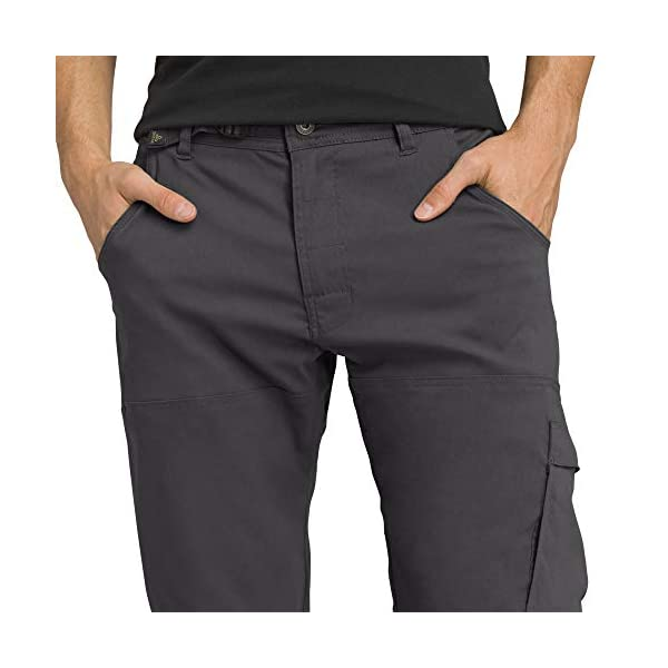 prAna Men's Standard Stretch Zion Pant, Charcoal, 35