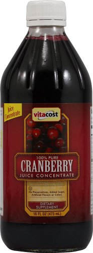 Vitacost 100% Pure Cranberry Juice Concentrate - 16 fl oz