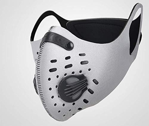 OFAY Fahrrad Fahren Masken Staubmasken Erwachsene Männer und Frauen Sport-Fitness-windundurchlässigen Warmer Maske Anti-Nebel und Dunst Laufen,3